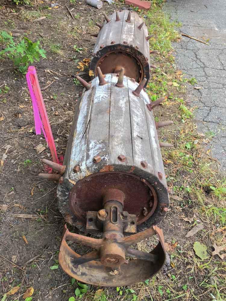 Antique Salvaged Mattress Thrasher