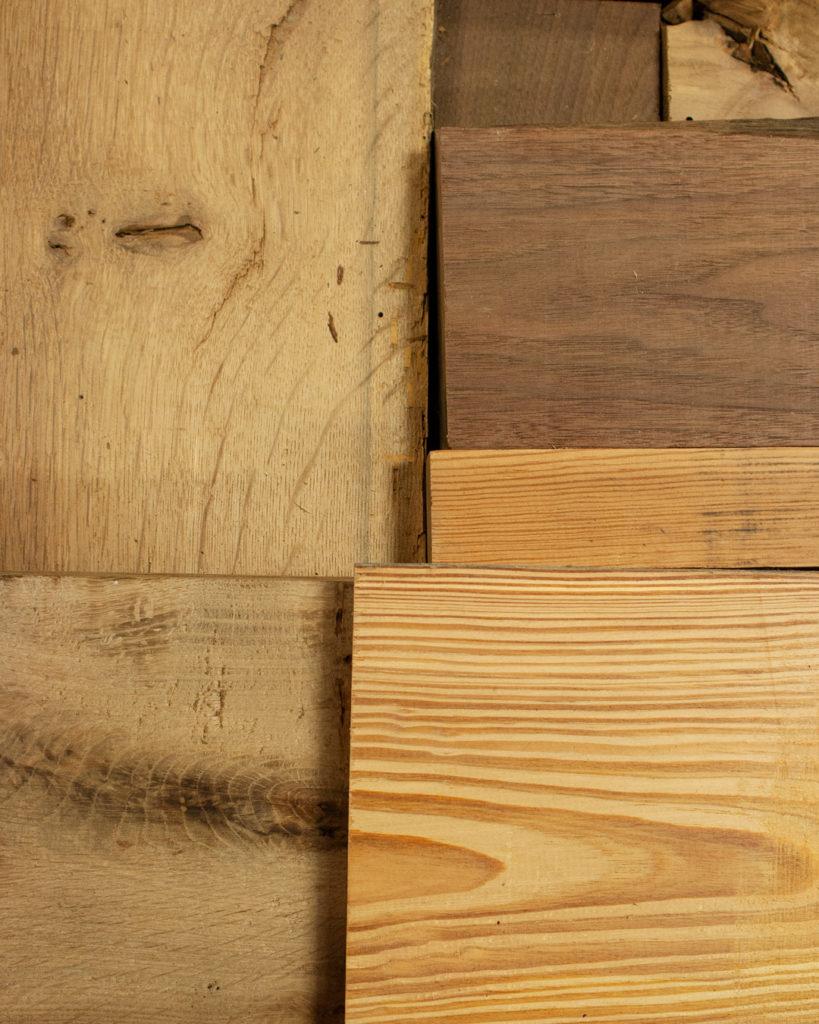 Reclaimed Wood Big Box of Blocks