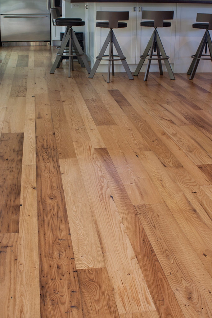 Reclaimed American Chestnut Flooring in Private Home