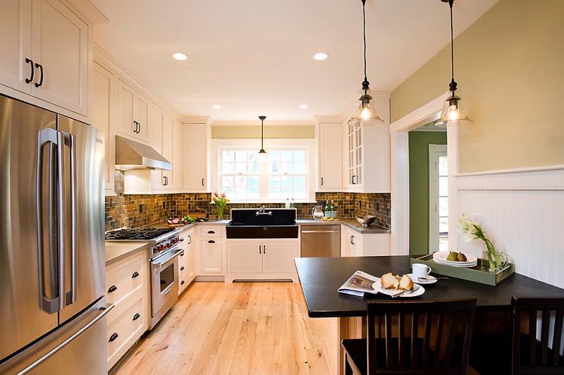 Reclaimed Red Oak Flooring ~ Private Residence