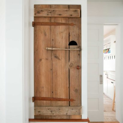 Reclaimed Barn Doors ~ Private Residence, Rockport, Massachusetts