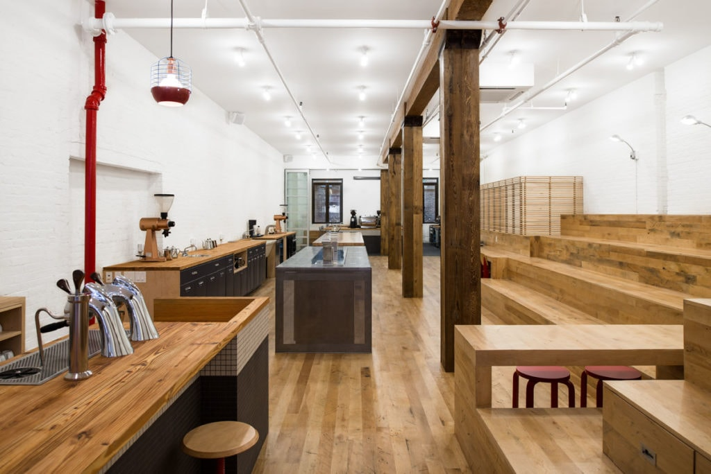 Reclaimed Factory Maple Coffee House