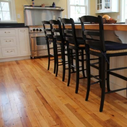 Reclaimed Maple Flooring ~ Private Residence