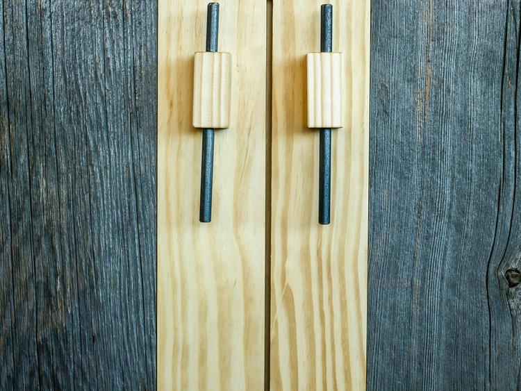 Reclaimed Barn Board & Heart Pine Cabinets ~ Venture Café at Cambridge Innovation Center, Kendall Square, Massachusetts