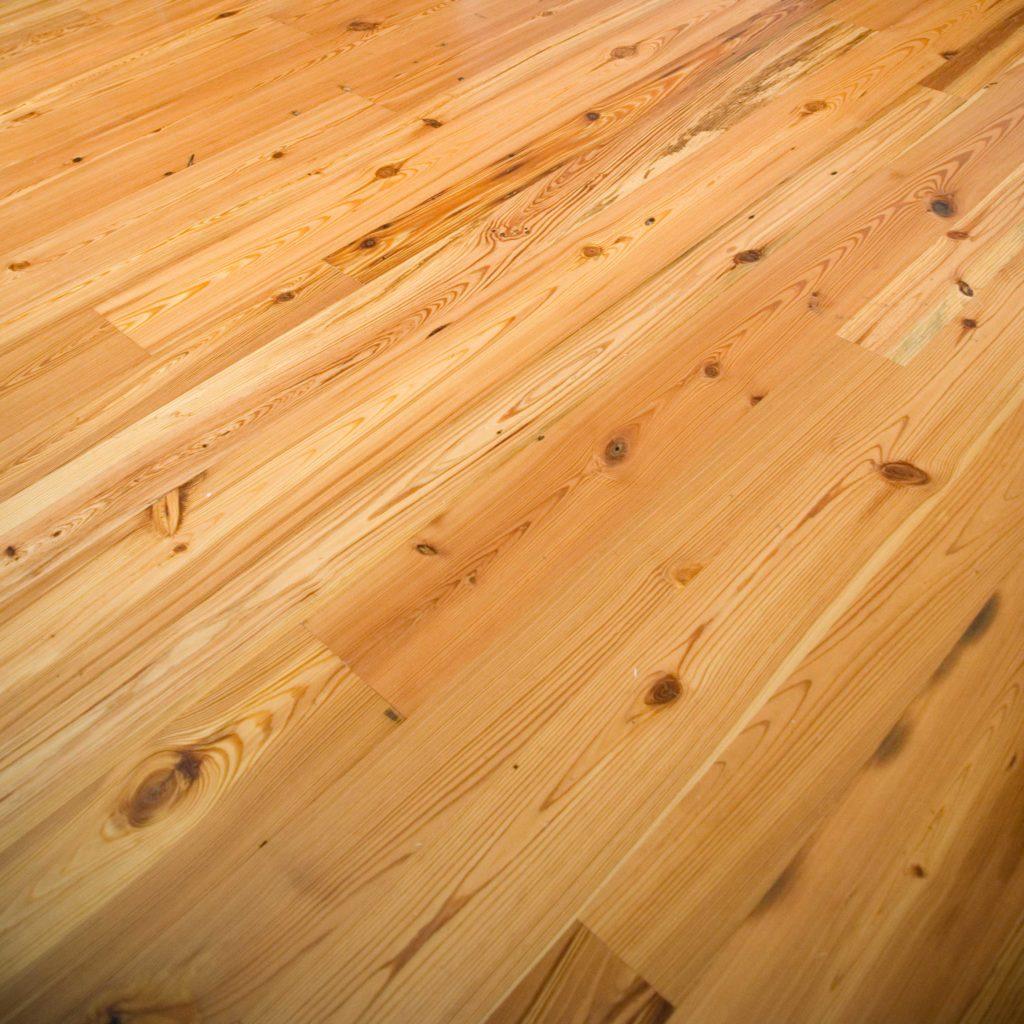 #3 Rustic Reclaimed Heart Pine Flooring ~ Private Residence, Nantucket, Massachusetts