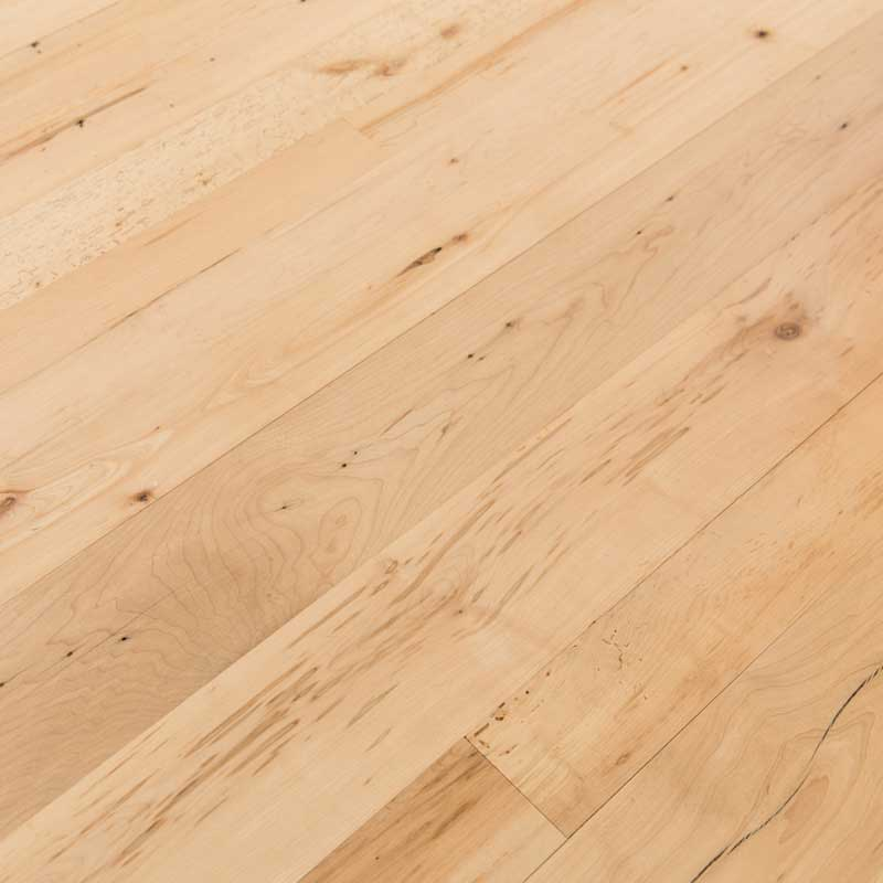 Reclaimed Maple Flooring - Finish is Vermont Naturals Water Based Polyurethane