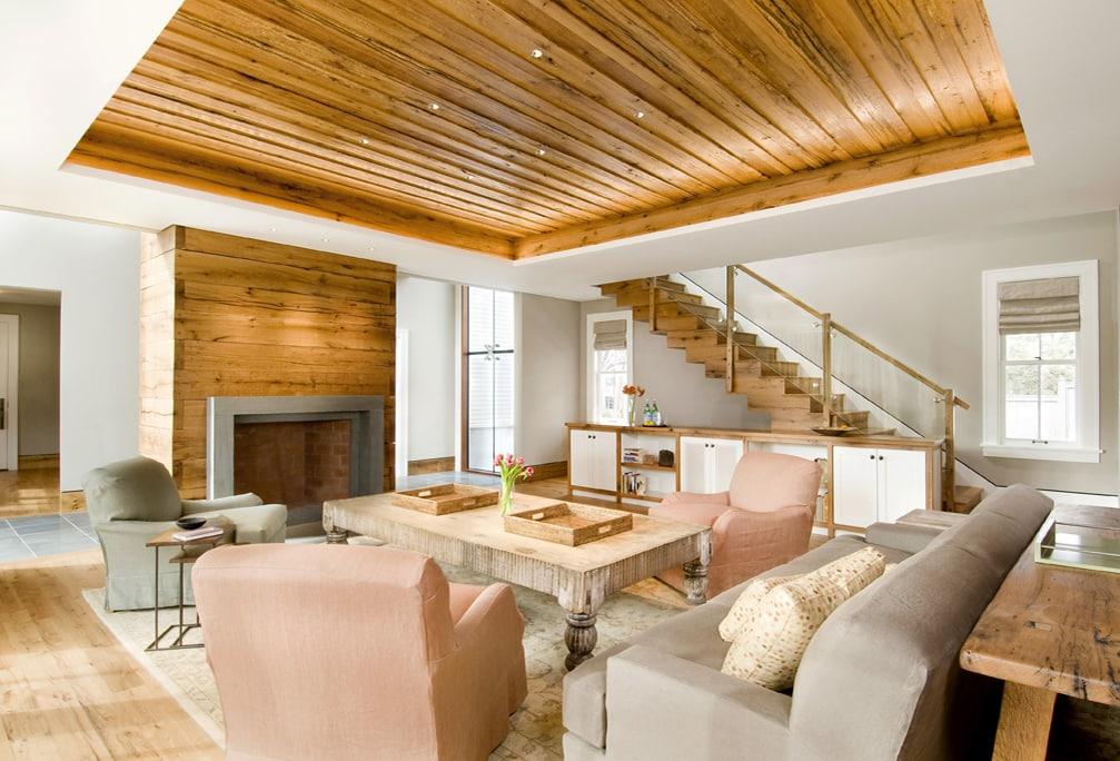 Reclaimed Oak Stair Treads & Casing ~ Cambridge, MA