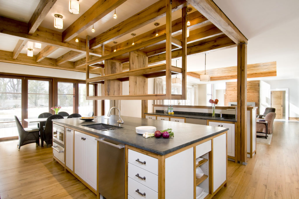 Reclaimed Oak Custom Millwork ~ Cambridge, MA