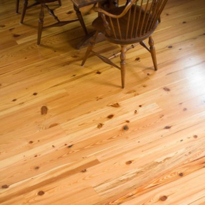 #3 Rustic Reclaimed Heart Pine Flooring ~ Nantucket, Massachusetts, Private Residence