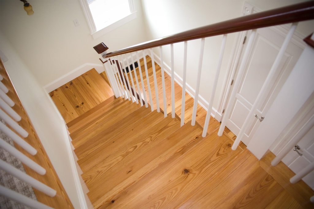 Reclaimed #3 Rustic Heart Pine Stair Treads