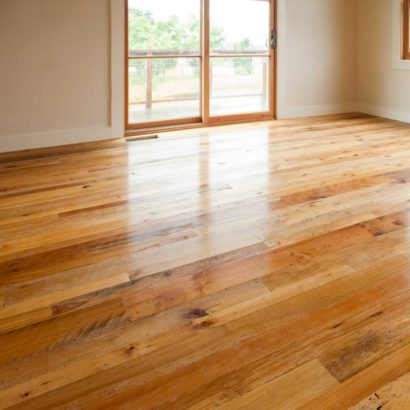 Reclaimed Maple Flooring ~ Martha's Vineyard, Massachusetts - Waterlox Tung Oil Finish