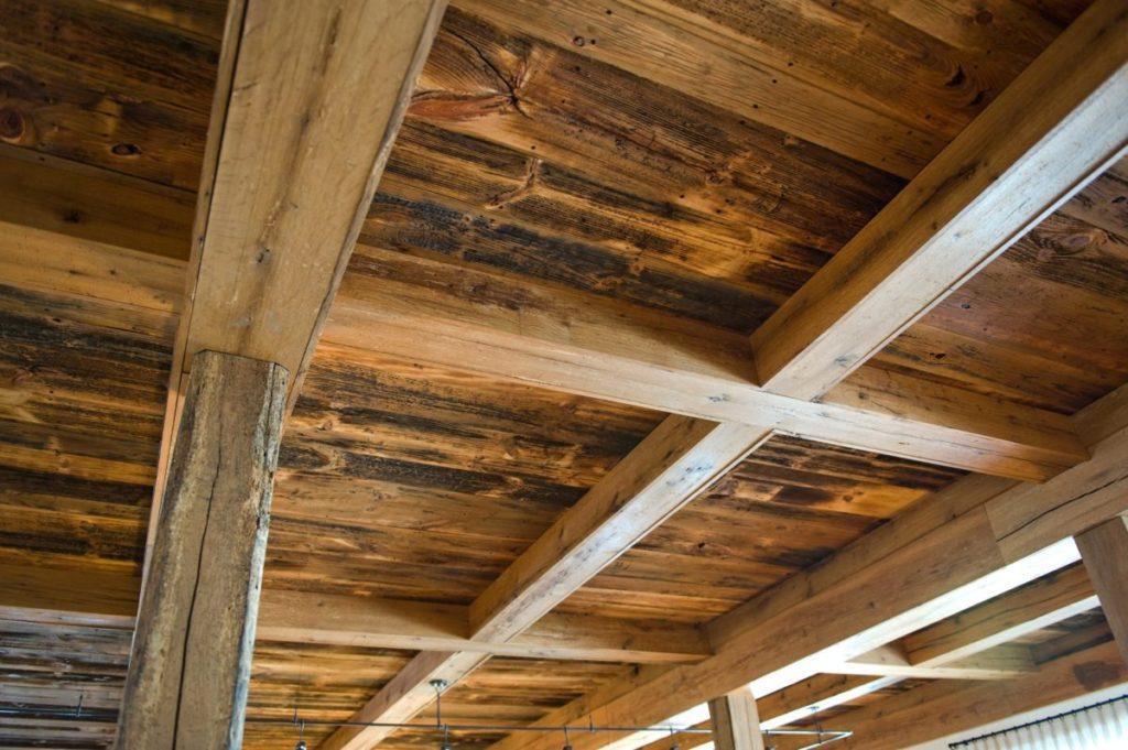 Reclaimed White Oak Beam Casings ~ Maine Private Residence