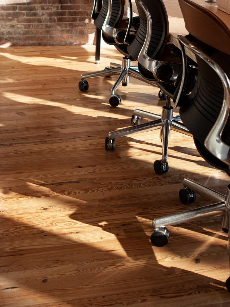 Reclaimed Heart Pine 'Run-Of-The-Mill' Flooring
