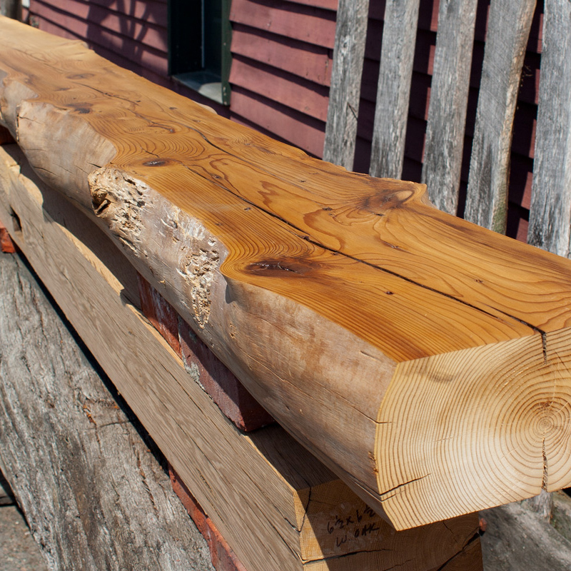 Live Edge Beams & Mantels