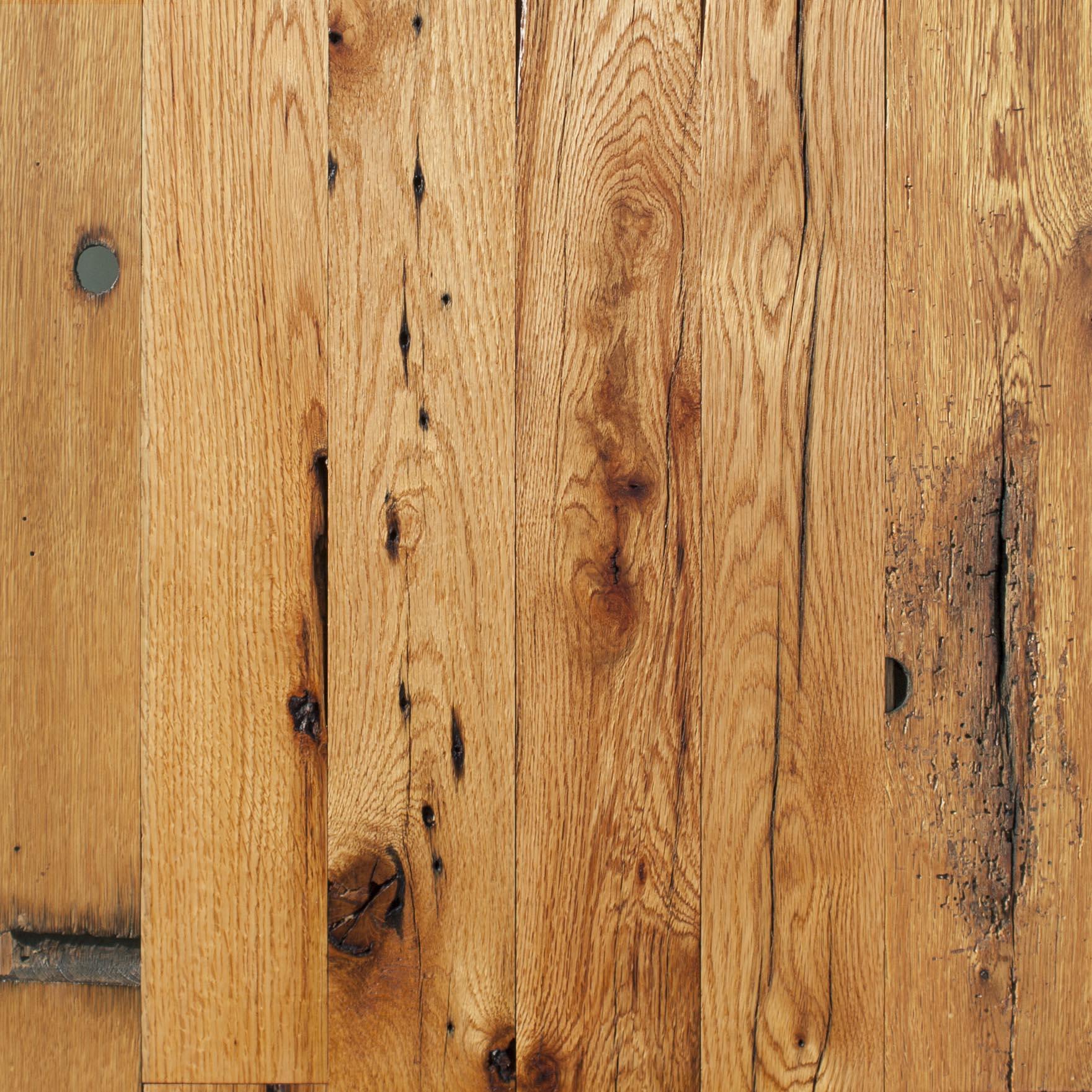 Post & Beam Rustic Oak Paneling