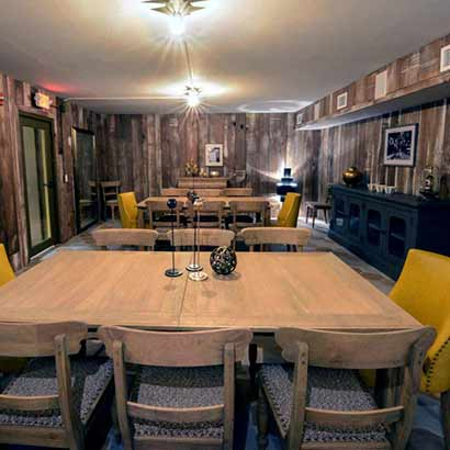 Reclaimed American Chestnut Paneling