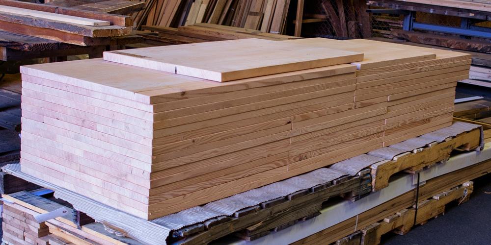 Douglas Fir Reclaimed Wood Counter and Desk Tops