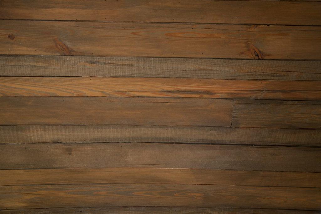 Reclaimed Heart Pine Ceiling Paneling ~ Brewery, Hoboken, New Jersey
