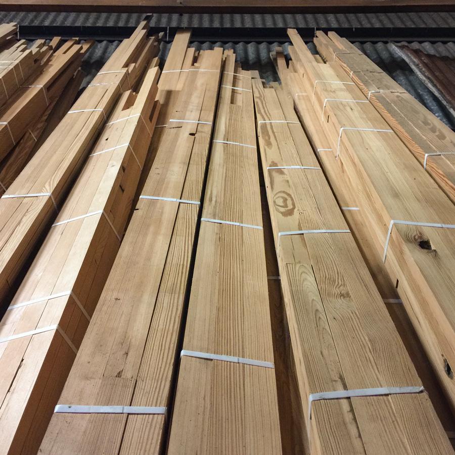 Reclaimed Heart Pine Moulding Blanks