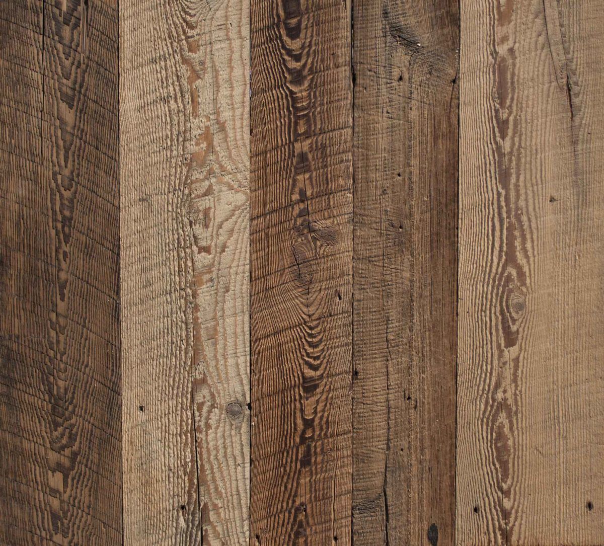 Reclaimed Wire-Brushed Hemlock Barn Siding