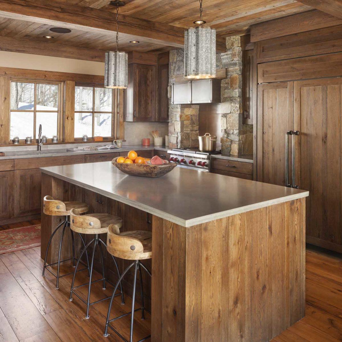 Reclaimed White Oak Flooring in Private Home
