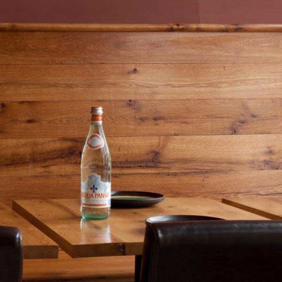 Reclaimed Oak Paneling ~ Thelonius Monkfish Resturant, Cambridge, MA