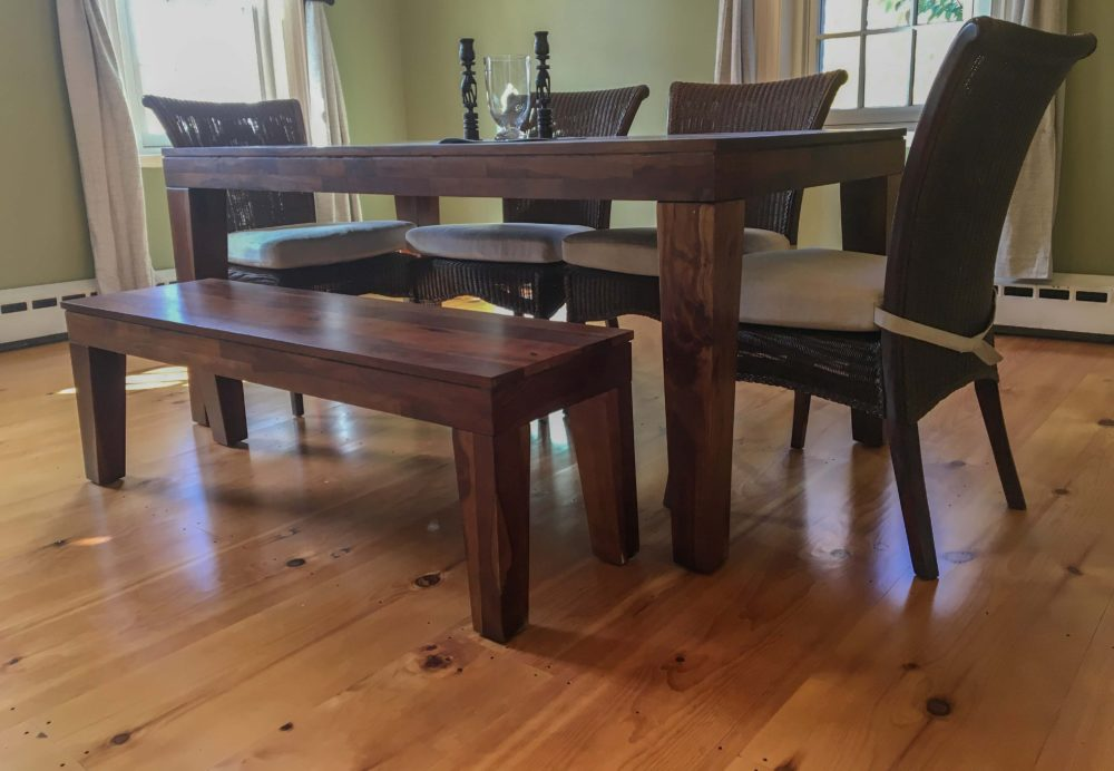 Reclaimed Pumpkin Pine Flooring