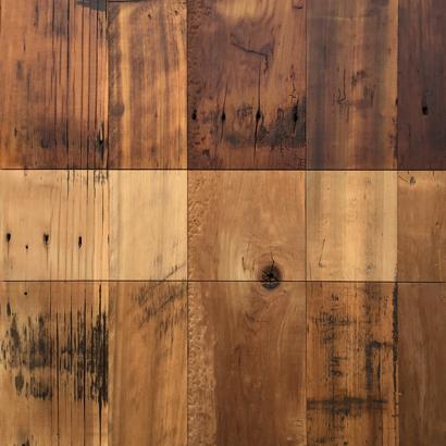 Reclaimed Skip-Planed Poplar Paneling