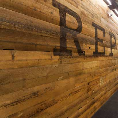 Reclaimed Spruce Wood Paneling