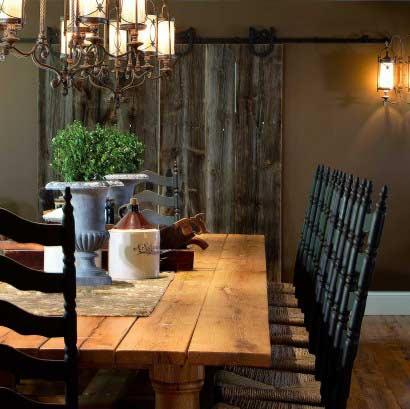 Reclaimed White Oak Kitchen Table