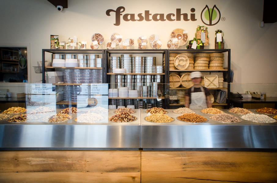 Reclaimed White Oak Paneling ~ Fastachi, Watertown, Massachusetts