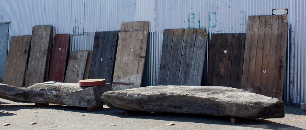 Salvaged Barn Doors