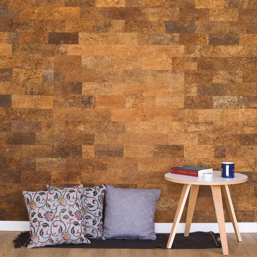 We Cork Wall Covering Paneling Natural Bark