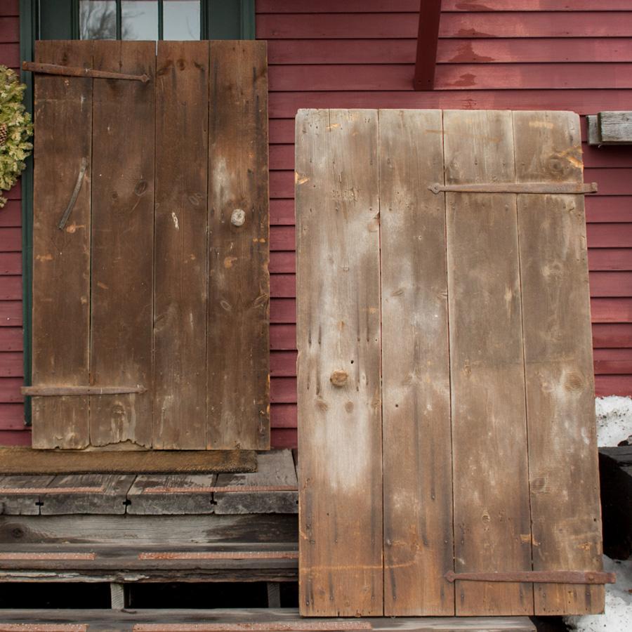 Salvaged Wood Barn Doors